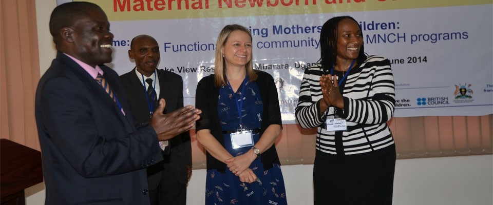 The launch of Maternal Newborn and Child Health Institute.